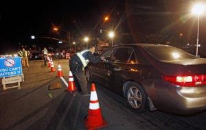 Police say Logan Shaulis ever so helpfully set up his own DUI checkpoint.