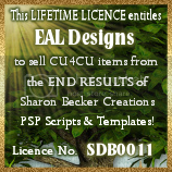 CU4CU License for Sharon Becker