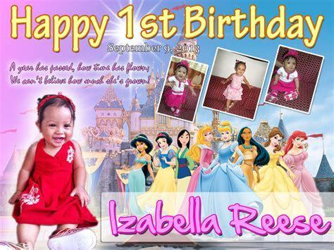 Isabella Reese's 1st Birthday (Disney Princess)   Cebu