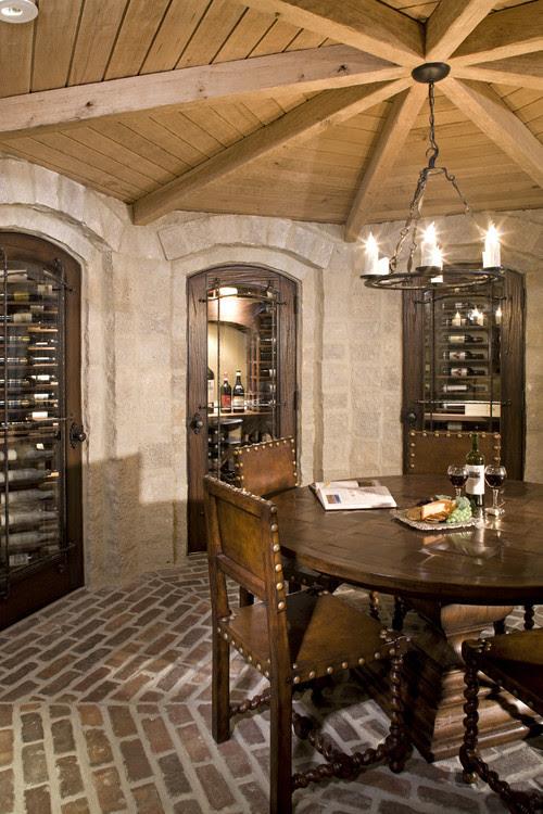 Wine Room traditional wine cellar
