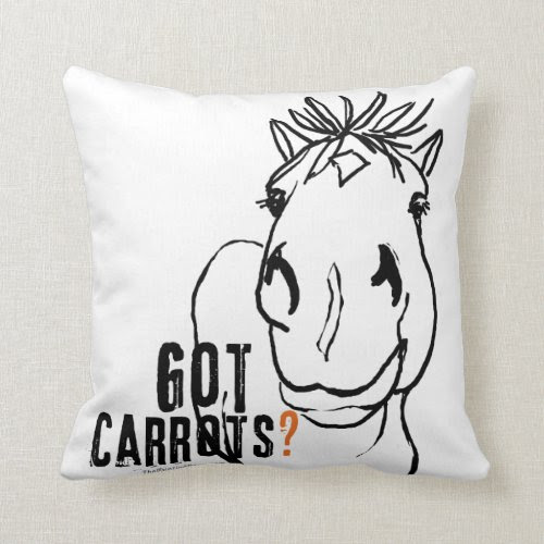 Got Carrots? Pillow
