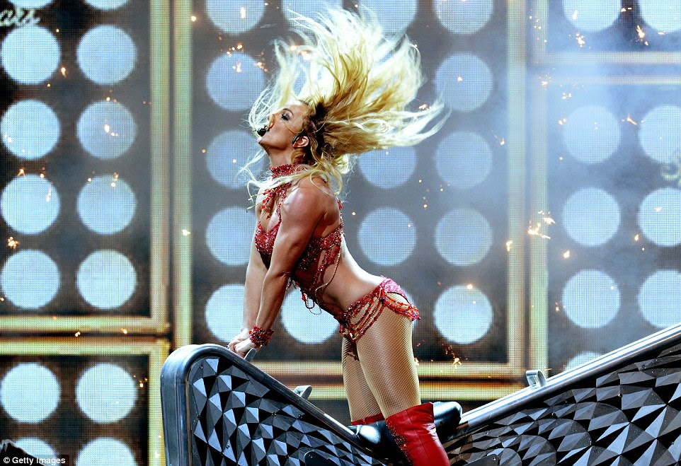 It's Britney! Britney Spears got the Billboard Music Awards off to a blistering and very, very sexy start on Sunday night
