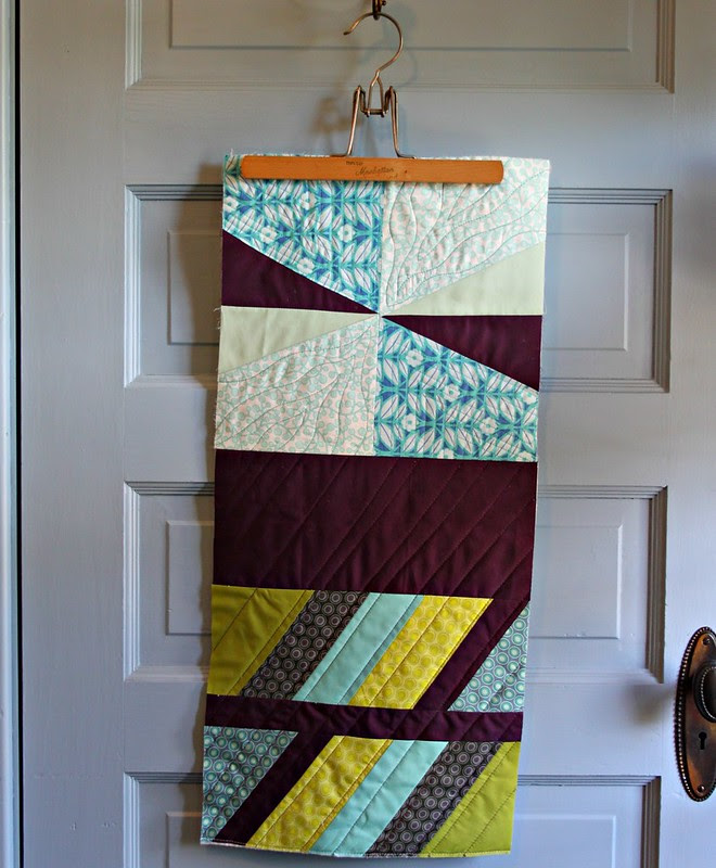 Update -- add sides, line it, handle and make a tote bag -- Or keep going for a quilt?? hmn?