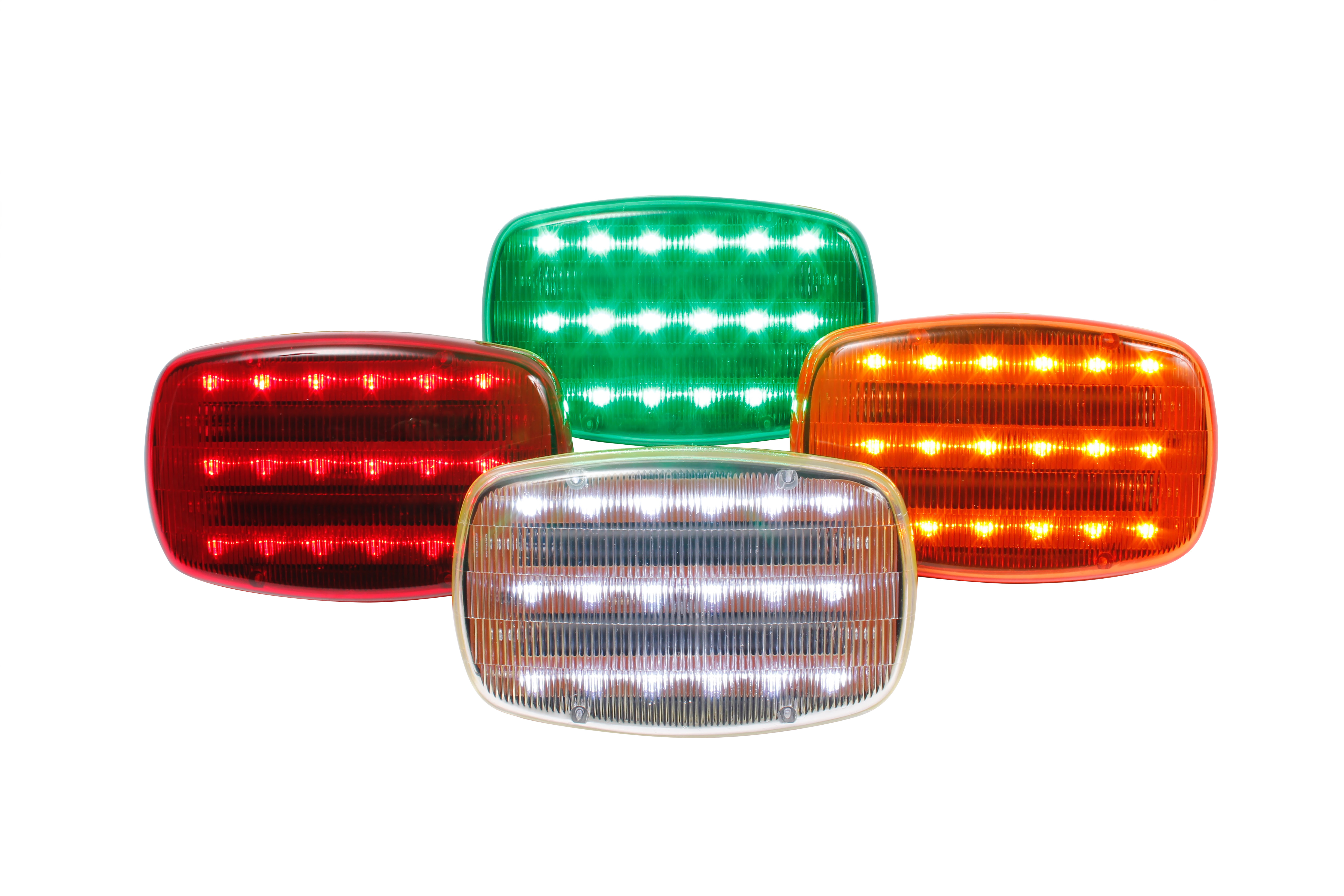 Led Battery Operated Magnetic Safety Flashers Custer Products