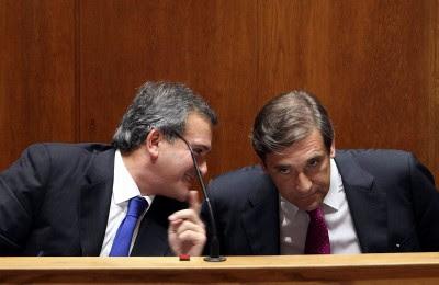 O atual primeiro-ministro, que assegura nunca ter sido acionista da Tecnoforma, omite, porém, nos seus currículos que foi administrador desta entre 2005 e 2007, refere o Público. Foto Tiago P./LUSA.