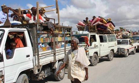 MDG: Somalis fleeing May 2012