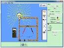 Screenshot of the simulation Κατασκευή κυκλωμάτων (μόνο DC)