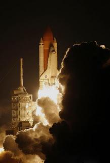 Discovery rumbo hacia la ISS