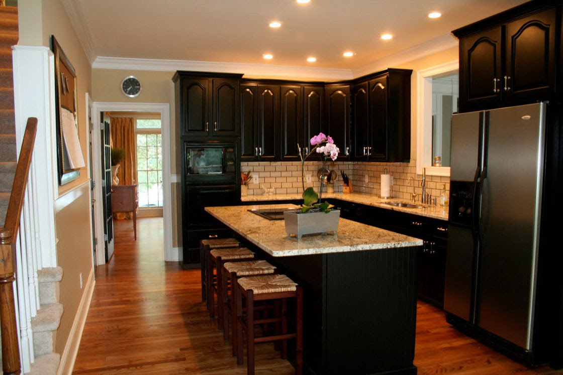 Simple Tips for Painting Kitchen Cabinets Black  My Kitchen Interior  MYKITCHENINTERIOR
