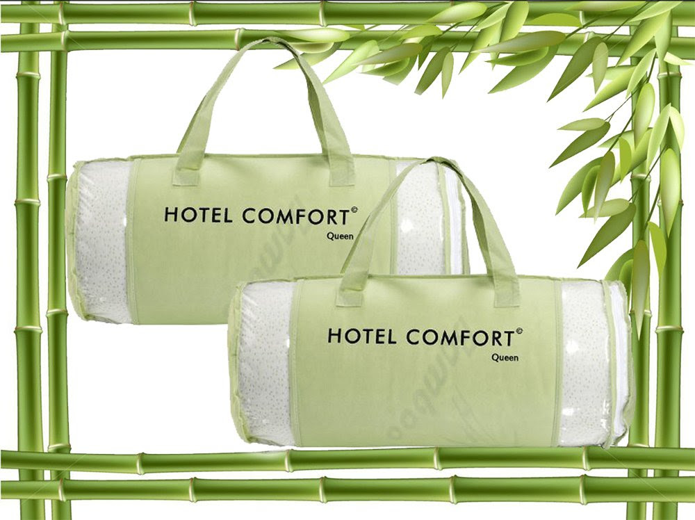 Amazon.com: Hotel Comfort Bamboo Covered Memory Foam Pillow - Stay ...