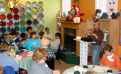 Teaching at Wild Purls