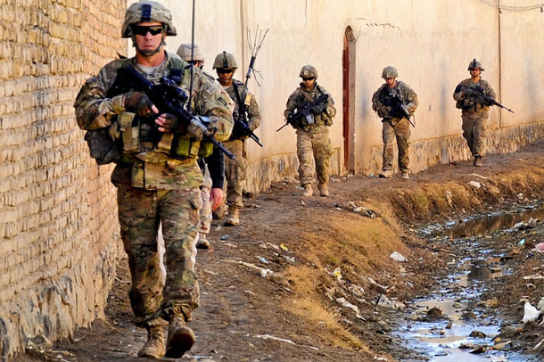 U.S. Troops in Afghanistan (Photo: Senior Airman Sean Martin, U.S. Air Force)