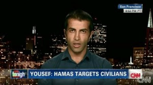 Mosab Hassan Yousef. Photo: Screenshot.