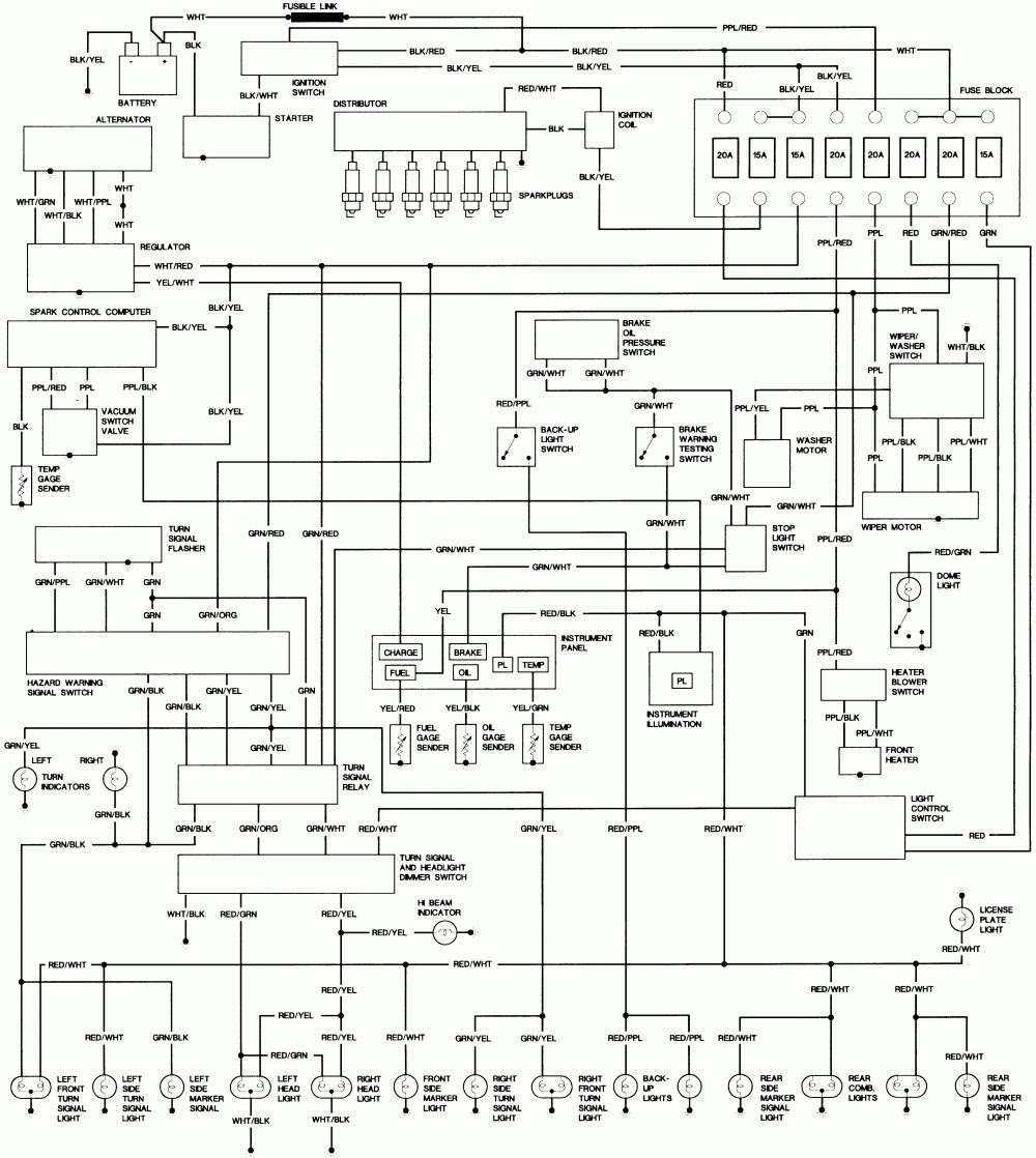 95 Pontiac Bonneville Wiring Diagram