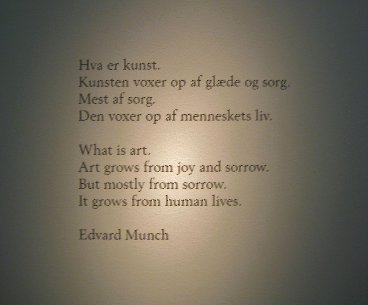 Edvard Munch Quote Life And Death Museum The Culture Map