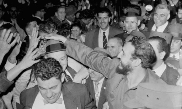 Fidel Castro en Washington.