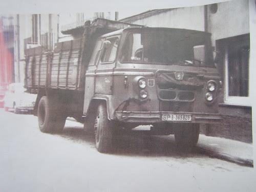 Camió Nazar de l'empresa Font de Manlleu (Osona)