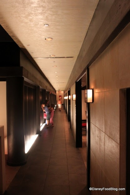 Teppan Edo Hallway to Dining Rooms