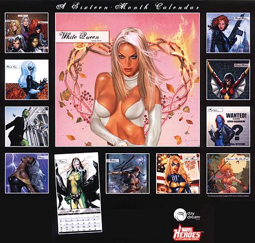 Women of Marvel 2010 Calendar