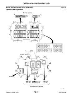 2008 Nissan Maxima Fuse Box Diagram Wiring Site Resource