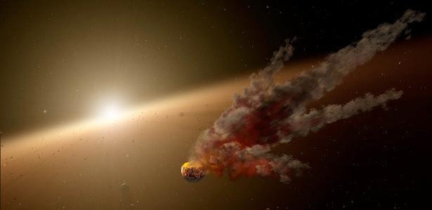 Telescópio registra nuvem de poeira capaz de formar planetas