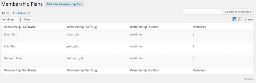 SUMO Memberships is a complete WordPress WooCommerce membership system