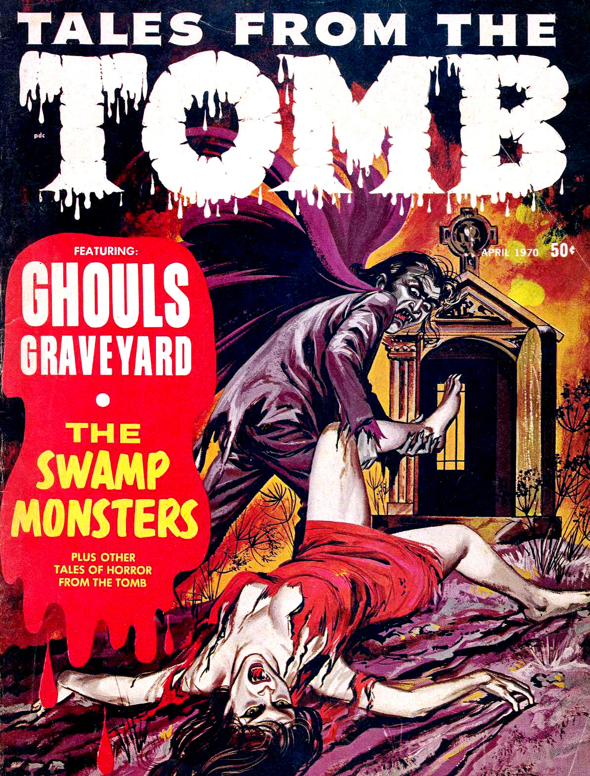 Tales from the Tomb - Vol. 2 #2 (Eerie Publications, 1970)