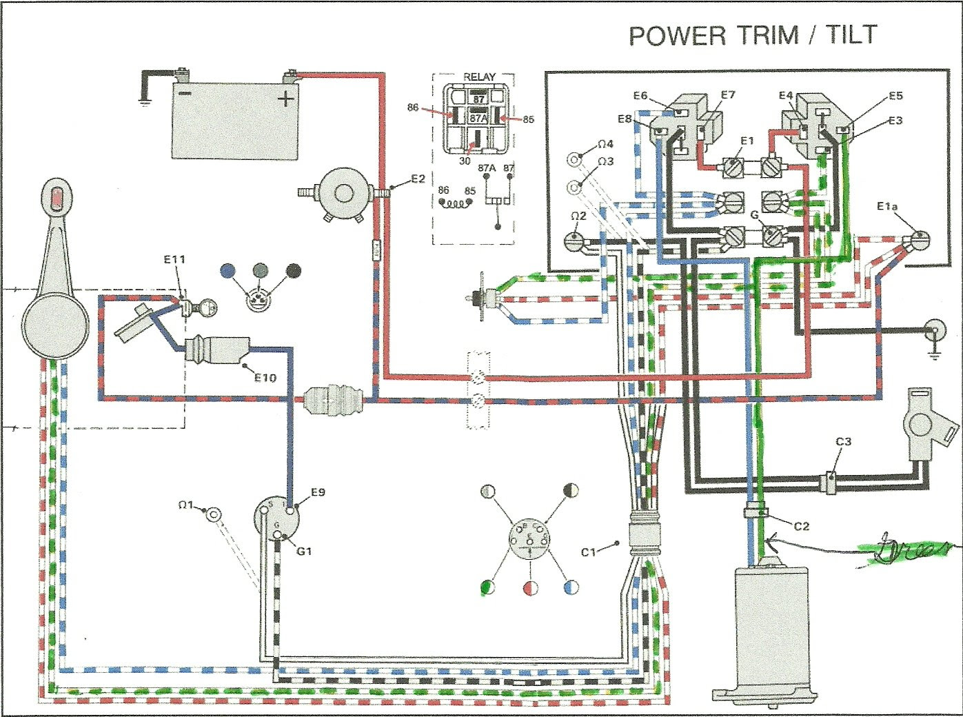 8b8 1989 Evinrude 50 Wiring Diagram Wiring Library