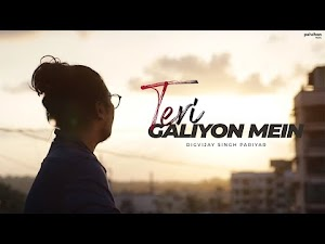 TERI GALIYON MEIN (Unplugged Cover) LYRICS -  Digvijay Singh | Hawas