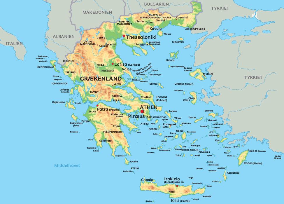 kort grækenland Kort GræKenland | Kort 2019