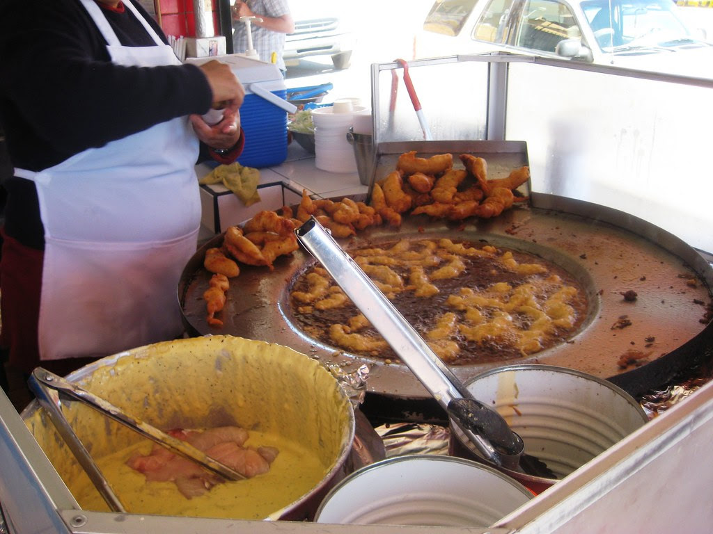 Tacos El Fenix Fish Tacos