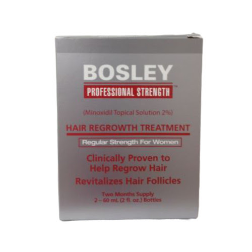 Bosley Hair Regrowth Treatment Minoxidil Solution 2% for WomenTwo Months Supply  eBay