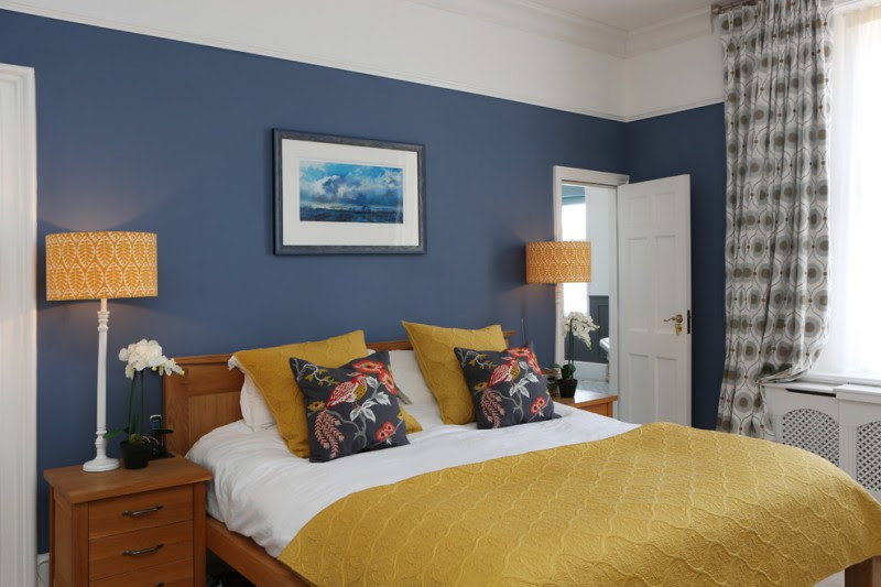 Get Premium Style with Playful Yellow Mustard Bedroom ...