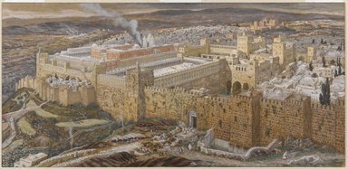 Brooklyn Museum: Reconstruction of Jerusalem and the Temple of Herod  <br /><b> TODAY'S SPECIAL:</b> <a href=