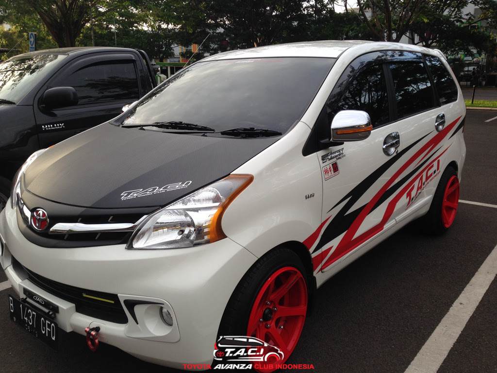 Racun Modifikasi Mobil Toyota Avanza Club Indonesia