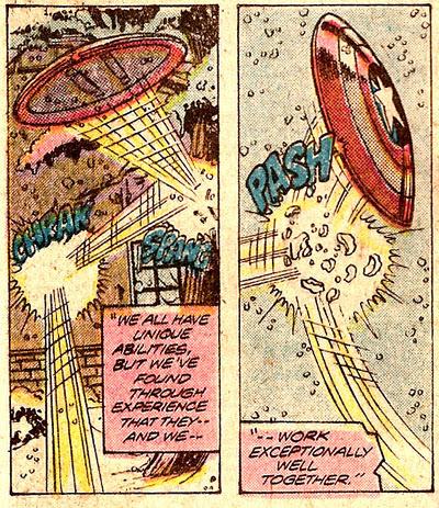 Avengers #194 panels