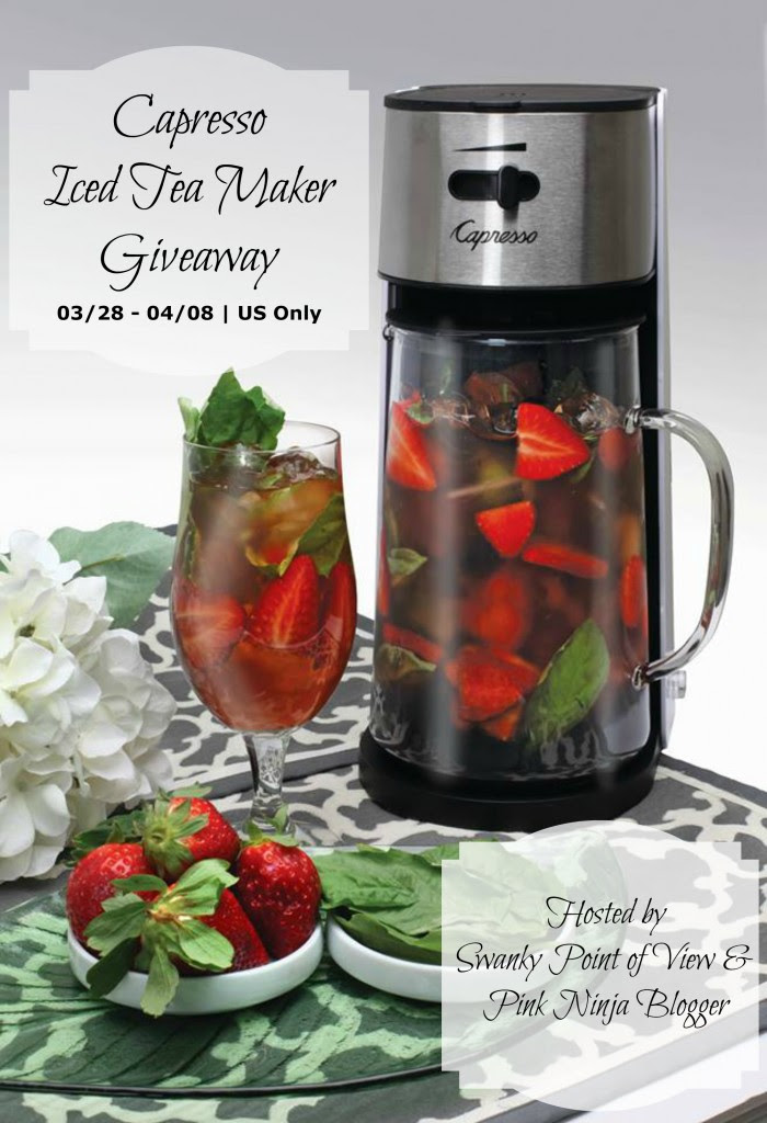 Enter the Capresso Iced Tea Maker Giveaway, Ends 4/8