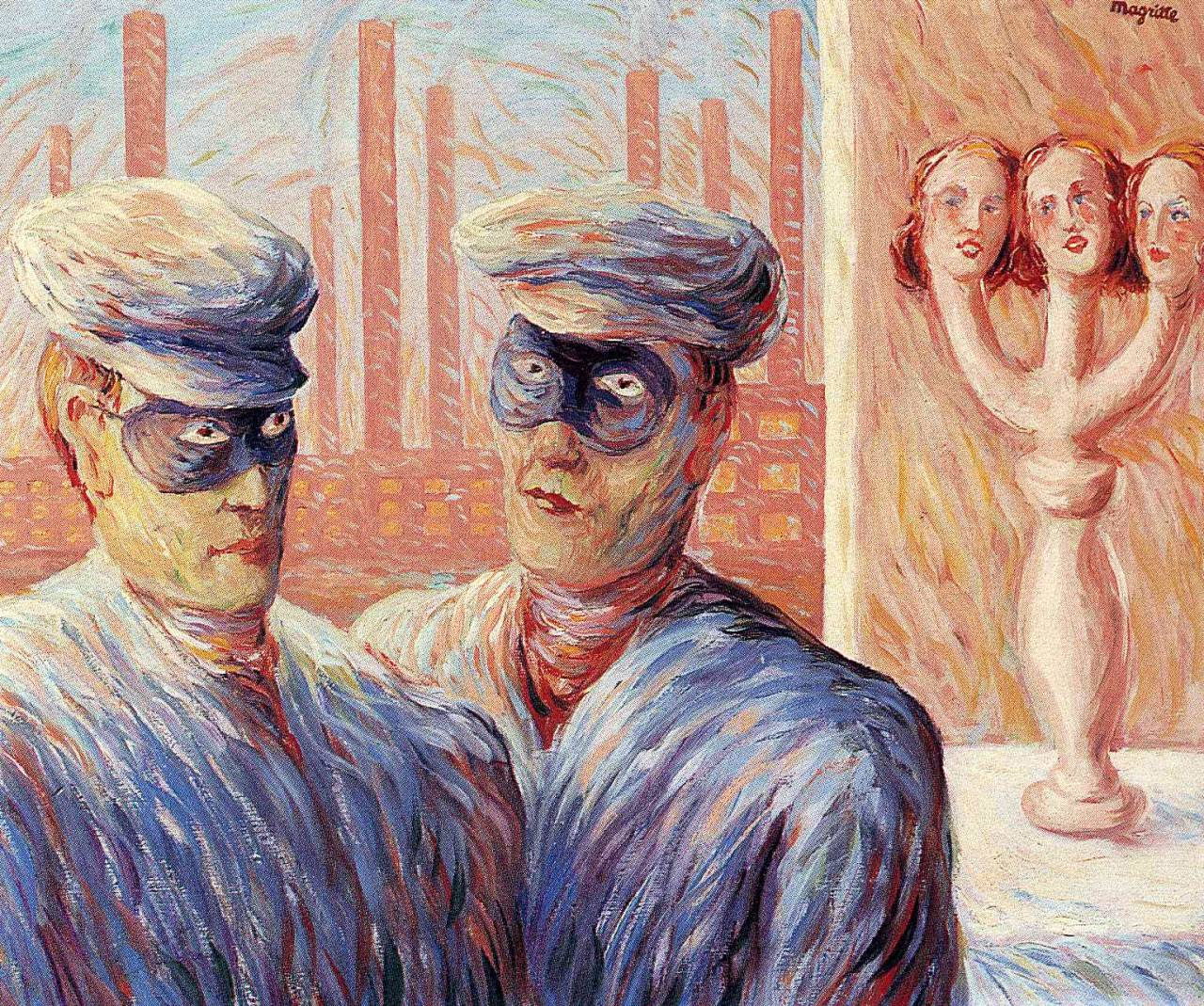 The Intelligence, 1946 Rene Magritte