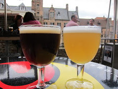 Belgium beer in Belgium!