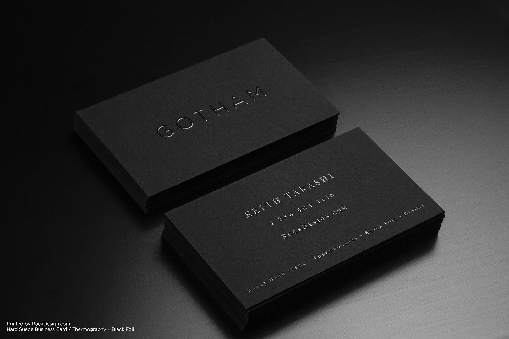 hard suede business cards 5