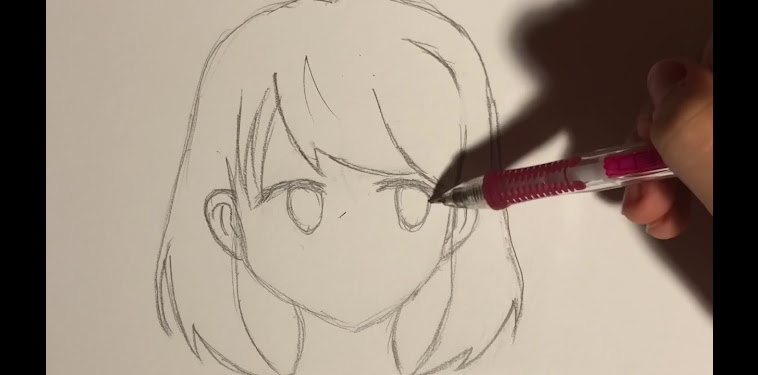 Anime Girl School Beginner Easy Anime Drawings