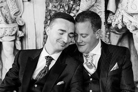 Warren & Andy's wedding at Hatfield House