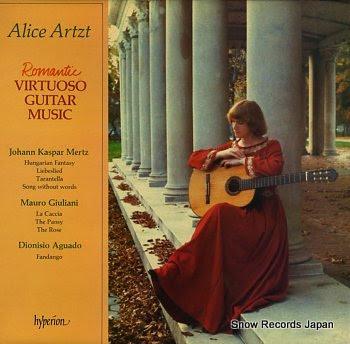 ARTZT, ALICE romantic virtuoso guitar music