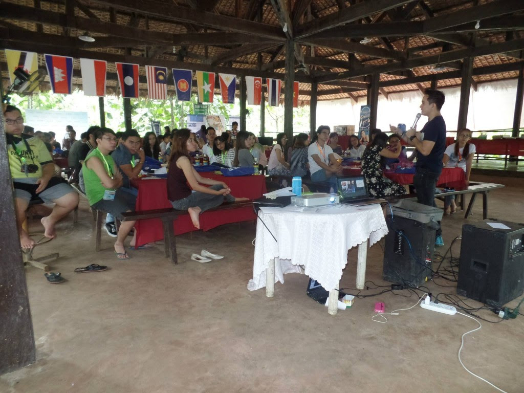 The VoiceMaster Speaks to Delegates of AYLA 3rd Advocacy Camp