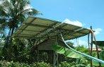 Imagem de uma placa solar.