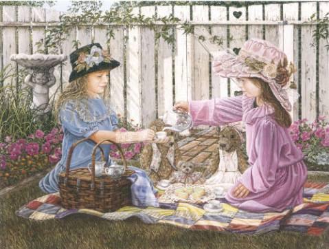 Teddy Bear's Tea Party