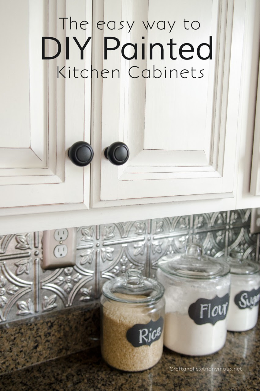Craftaholics Anonymous® | How to Paint Kitchen Cabinets ...