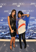 Tamara Mellon and M.I.A. - Jimmy Choo for H&M Launch