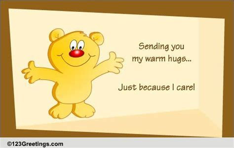 Just Because I Care! Free Just Because eCards, Greeting