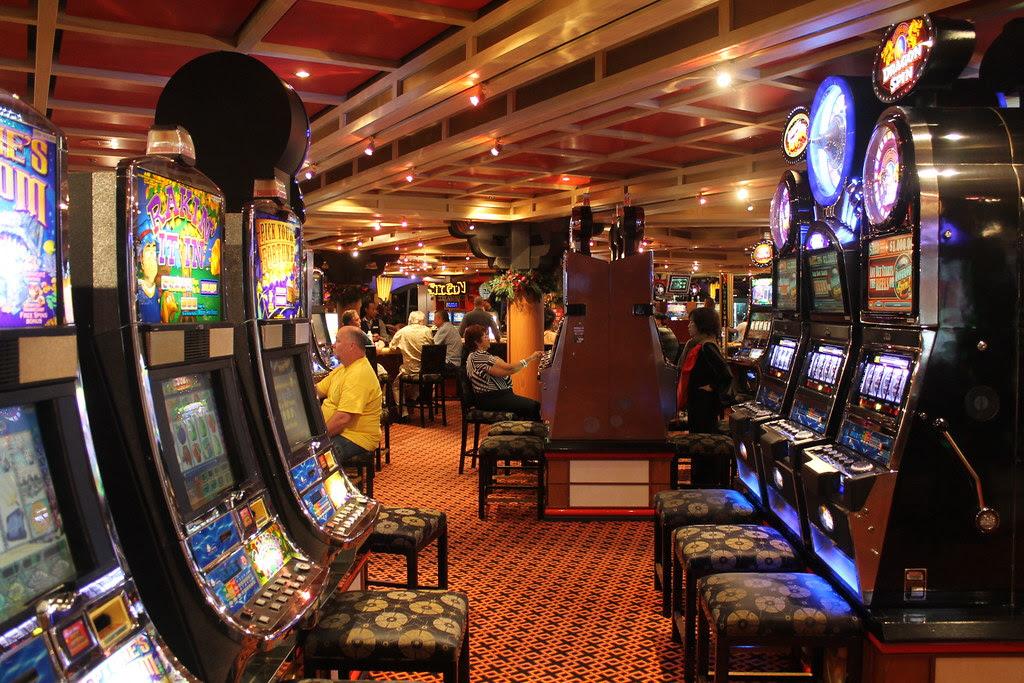 The casino.